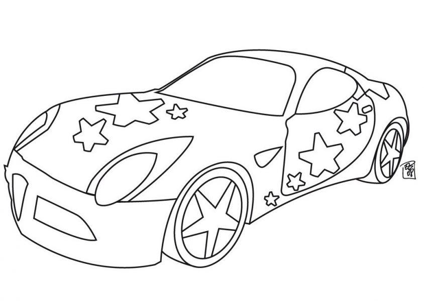 машины и не только раскраски детям