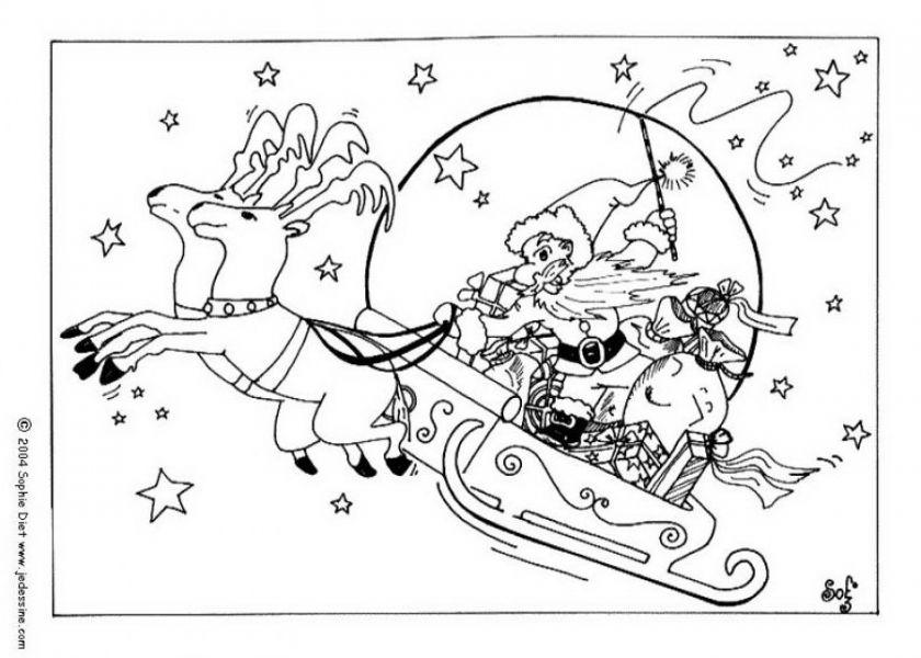 новогодние и рождественские раскраски раскраски детям
